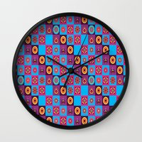 chess Wall Clocks featuring Chess  by MinaSparklina