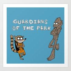 Guardians of the Park Art Print