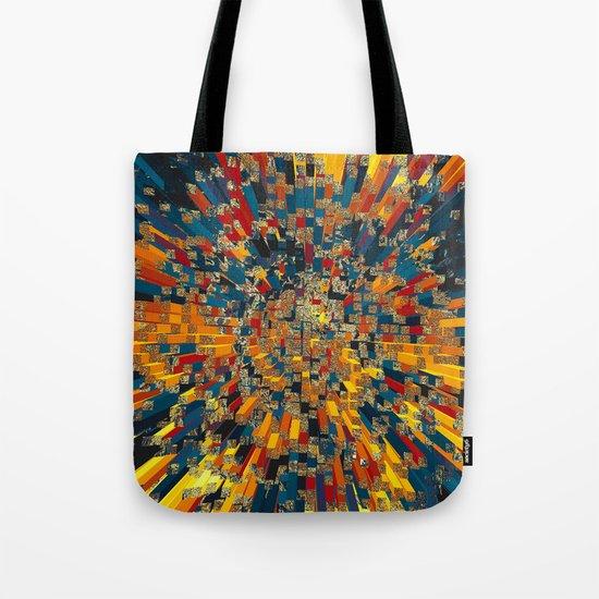 Flying prisms Tote Bag