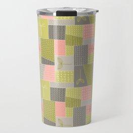 Seedlings - Gray / Rose / Green Travel Mug
