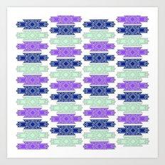 art deco pattern #3 Art Print