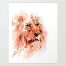 Kiburi ... Lion Art Print