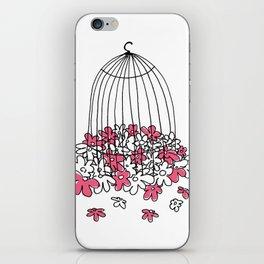 Caged Bird's Sing iPhone Skin