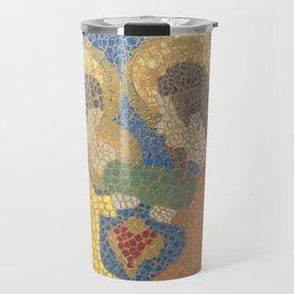 Mosaic Nativity Travel Mug