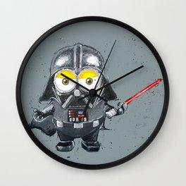Darth Vader minion style Wall Clock