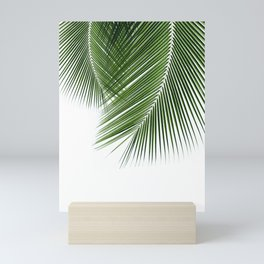 Delicate palms Mini Art Print