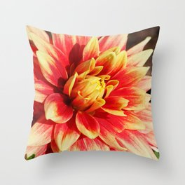 In the Quiet Breath of Morning Throw Pillow