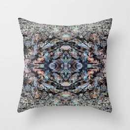 Rockslide Throw Pillow