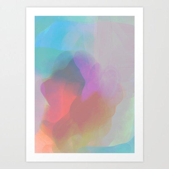 watercolor paint Art Print