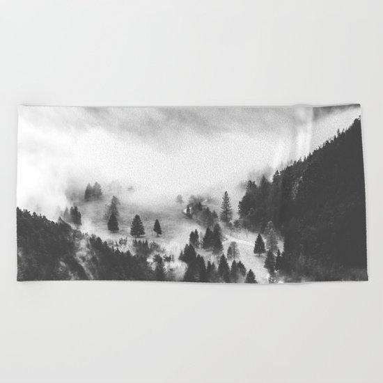 Ghostly Beach Towel