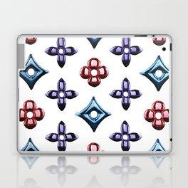 LV metallic logo Laptop & iPad Skin