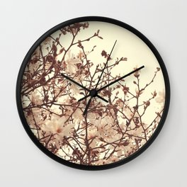 Spring Blossoms - Nature Photography Wall Clock