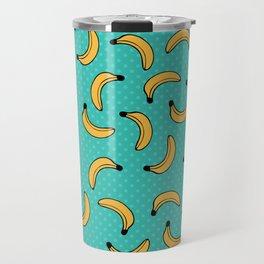 Pop Art Banana pattern Travel Mug