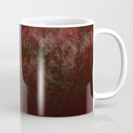 Grunge bright red Coffee Mug