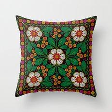 CLUSIA MARACATU Throw Pillow