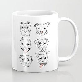 Pittie Pittie Please! Coffee Mug