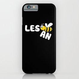 Lesbian Pride T Shirt - Lesbian Bee - Les Bee An iPhone Case