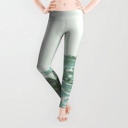 BONDI COASTAL TRACK (CROSS HATCHING STYLE) Leggings