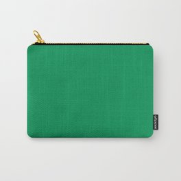 NOW FERN GREEN SOLID COLOR Carry-All Pouch