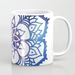 Galaxy Freehand Mandala Coffee Mug