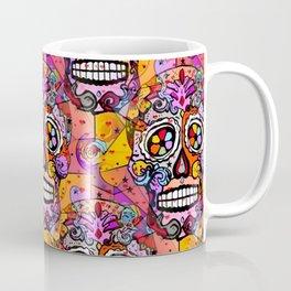 Los muertos Popart by Nico Bielow Coffee Mug