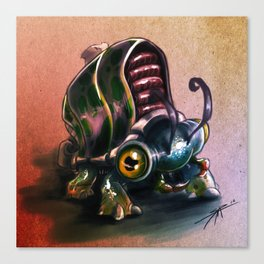 Bugging out.... Canvas Print
