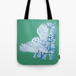 Cat Owl Tote Bag