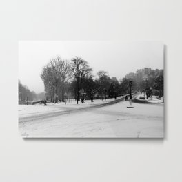 Paris Way Metal Print