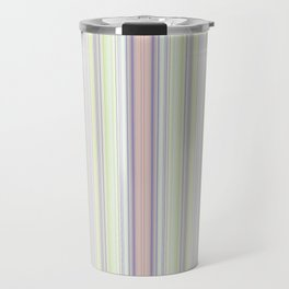 Babys Rainbow Stripe Design Travel Mug