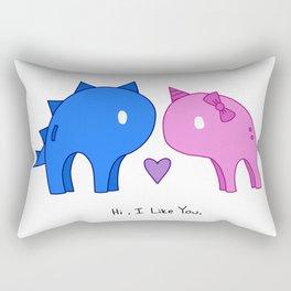 Hi. I like you. Rectangular Pillow