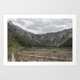 Avalanche Lake No. 1 - Glacier NP Art Print