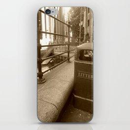 London Trash Talk iPhone Skin
