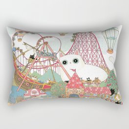 the Day of the rollercoaster Rectangular Pillow