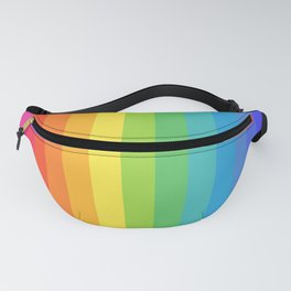 Solid Rainbow Fanny Pack