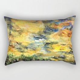 Remembering Baguio's 182 Pine Trees Rectangular Pillow