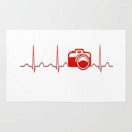 CAMERA HEARTBEAT Rug