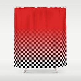 Harajuku checka Shower Curtain