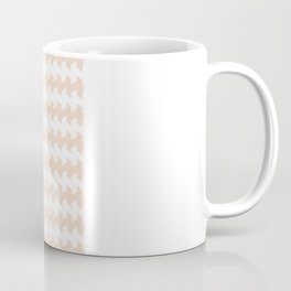jaggered and staggered in linen Coffee Mug