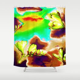 Floral Spring - (6) Shower Curtain