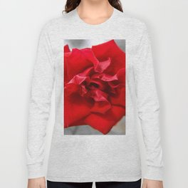 Rose in Red.... Long Sleeve T-shirt