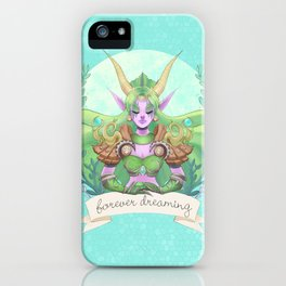 Ysera of the Dream iPhone Case