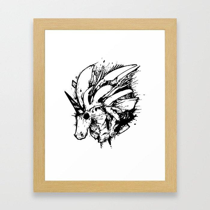 unicron Framed Art Print