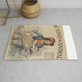 Be Kind To Animals 4 Rug