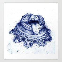 Lumpy Art Print