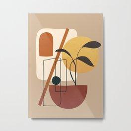 Abstract Shapes No.17 Metal Print