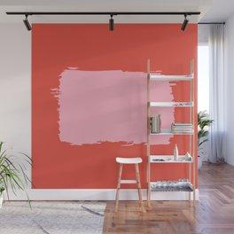 Crimson Swatch Wall Mural