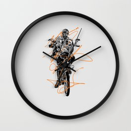 Slow Roll Part Deux Wall Clock