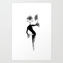 So... Art Print