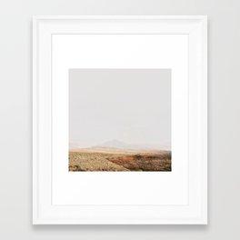Abstract modern Desert Landscape Photography Framed Art Print