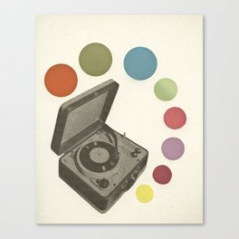 Pop Music Canvas Print